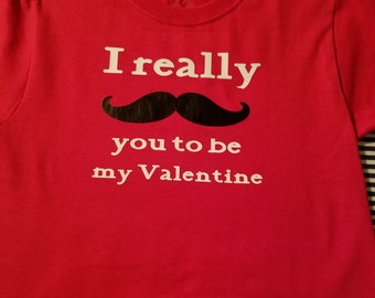 I really mustache you to be my Valentines