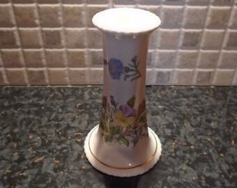 Wild Tudor Aynsley Candle Stick Holder / Floral Design / Vintage Home / Homeware / Home Decor / Tableware