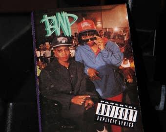 BWP 1991 The BYTCHES Cassette No Face Explicit Lyrics Def Tape Music Vintage 1990 Records Gansta Rap Gangster Hip Hop
