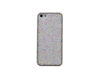 White Luxury Glitter Bling Crystal Hard Case for iPhone 6, 6S, 6 Plus, 6S Plus, SE, 5, 5S