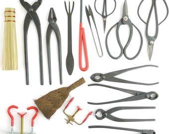 16 pcs Bonsai Tool Set