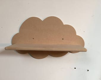 Cloud shelf mdf 550mm wide