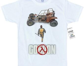 Gordon T shirt  half-life, akira mashup