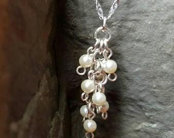 Pearl Cluster - Pendant