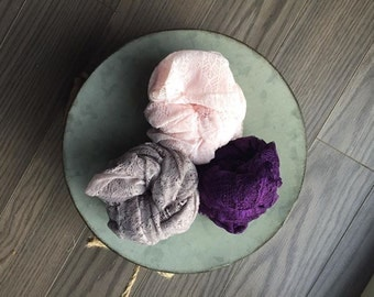 Lace Newborn Wraps