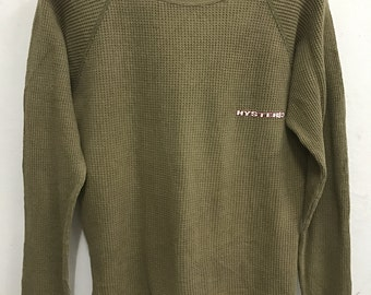 Hysteric Glamour Sweatshirt Rare Vintage Hysteric Glamour Sweater Jacket Hysteric Shirt Japan Streetwear Made in Japan