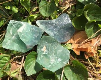 Raw Natural Fluorite Crystals