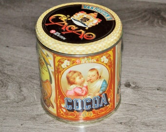 Van Houten Cacao/Cacoa tin box