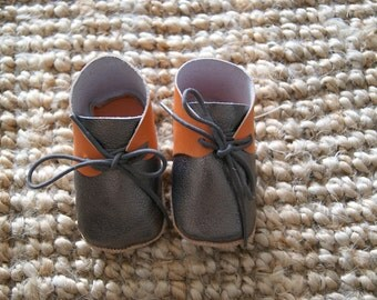 3/18 months old baby shoes leather