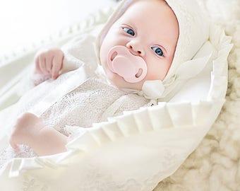 Sleeping bag, newborn sleeping bag, snuggle sack, baby sleeping bag, baby shower gift, baby cocoon, take me home outfit, newborn sleep sack