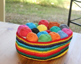 Soft Crochet Basket