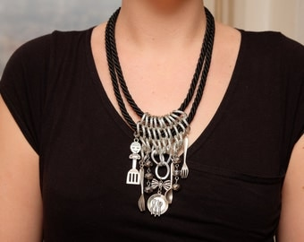 Culinary themed necklace
