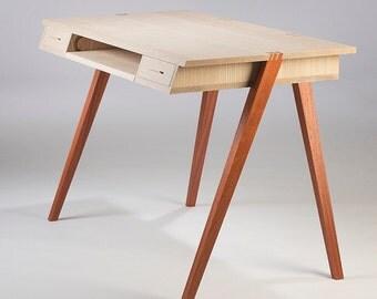 FREE shipping New Century Desk - wooden desk