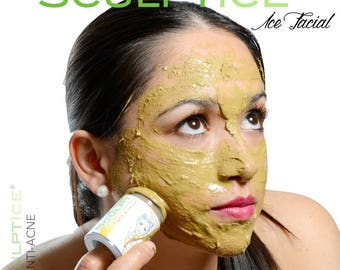 SCULPTICE®  Anti-Acne Facial Herbal Ice Mask for Face & Neck