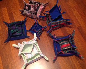 Square Fabric bowls