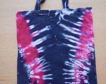 Tie dye beach or library bag