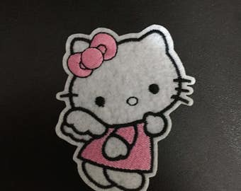 Hello Kitty, Hello Kitty Iron on Patches, 5.7x7.3cm size