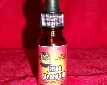 Jason Beard Oil - helps your beard stay soft and supple