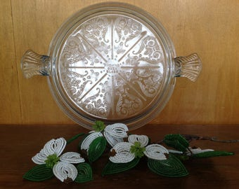 Vintage Fire King Oven Glass Hot Plate
