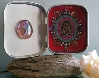 Buddha-Box/sehr beautiful pearl ornament/Medaillon