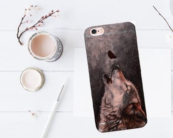 Wolf case iPhone 7, wolf case, iPhone 7 Plus case, wolf case, iPhone 6 case, iPhone SE case, night sky case, iPhone 7 Plus case, iPhone 5s