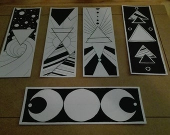 Mindless Elemental. Handmade bookmarks.