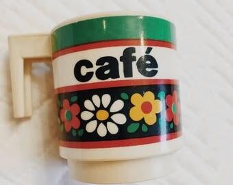 Vintage Cafe Mini Mug/Cup