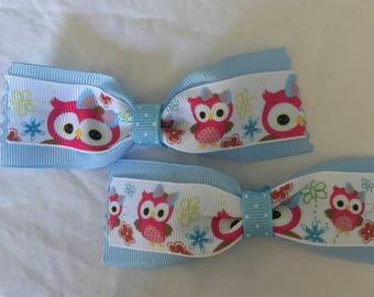 Large owl bows