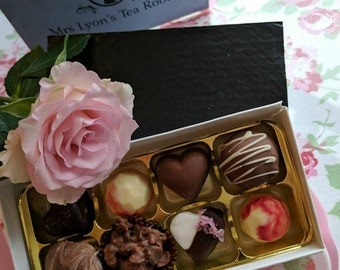 Hand-crafted Belgian chocolates