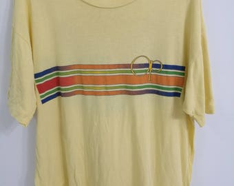 Vintage Ocean Pacific Sunwear T-shirt Hawaii Surfing Beach