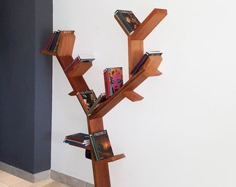 Tree library in solid walnut BOOKCASE bookshelf shelf rack arredamentro design TREE TREE