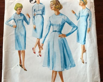 Vintage Vogue Pattern - Basic Design Printed Pattern