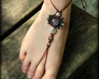 2 in 1 Tibet barefoot sandal & bracelets