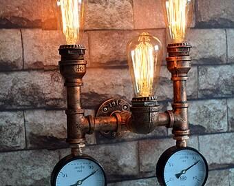 Bathroom Light - Bar Light - Modern Light-Wall Sconce - Vanity Light - Wall Light -Industrial lighting - Ceiling Light- Steampunk Light