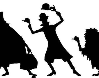 SVG Hitch Hiking Ghosts The Haunted Mansion