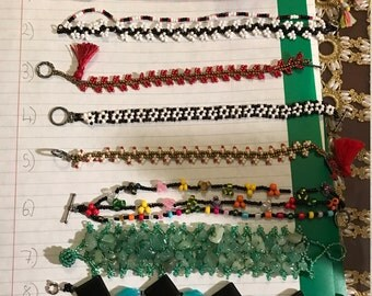 High quality handmade bracelets