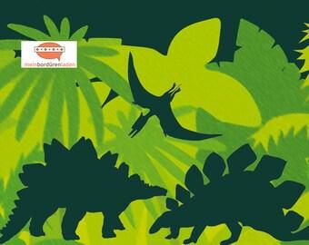 selbstklebende Kinderbordüre: Saurier Dark Shadow   Bordüren für Kinder, Dinobordüre, Saurier, Wandtattoo, Wandbordüre, Vliesbordüre,