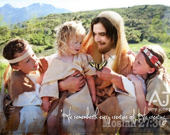Every Creature- Art of Your own Child w/Christ