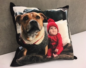 Personalized Photo Pillow Cover