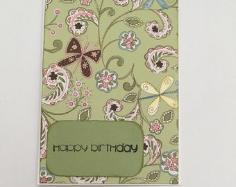 Handmade Card - Happy Birthday (HB14)