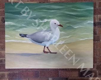 Seagull acrylics on canvas