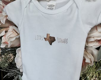 Little Texas Tornado Onesie