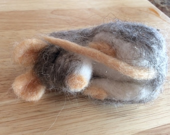 Handmade Needle Felted Mouse