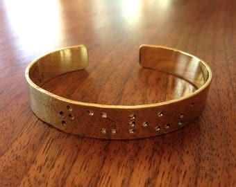 Taurus - cuff bracelet