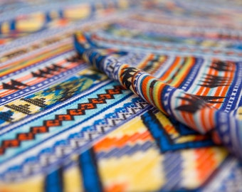 Colorful Boho Scarf, Aztec Scarf, Chevron Scarf, Soft Scarf, Summer Scarf, Fashion Scarf, Ethnic scarf, Best Scarf, Long Scarf, Geometric