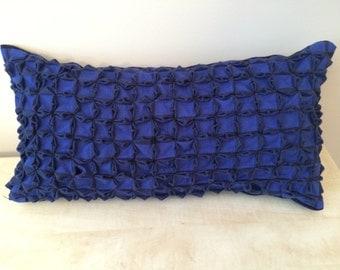 Smocked Oblong Pillow