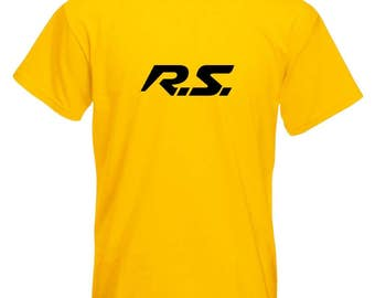 RS Renault Sport | Renault RS T-Shirt, Megan RS, Clio Rs Rs Cars Tee