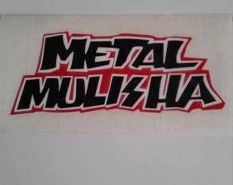 metal mulisha 3 color decal.