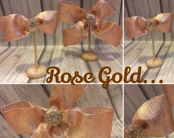 Rose Gold Hair clip..large/small