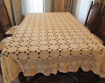Handmade Crochet Tablecloth